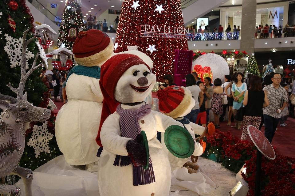 Kuala Lumpur świętuje Boże Narodzenie?