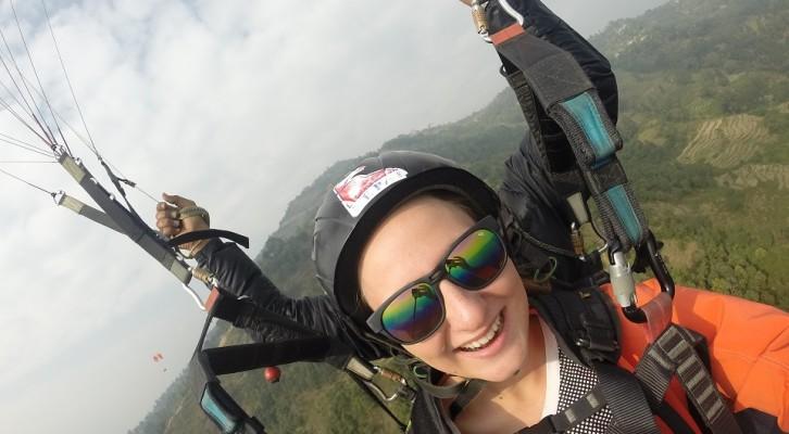 Skok na paralotni - Pokhara!