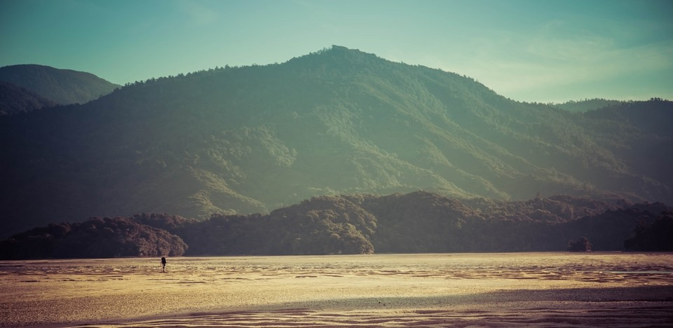 Trekking na szlaku Abel Tasman