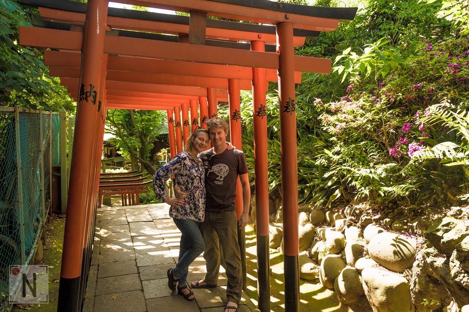 Chram Jinja Ueno Park