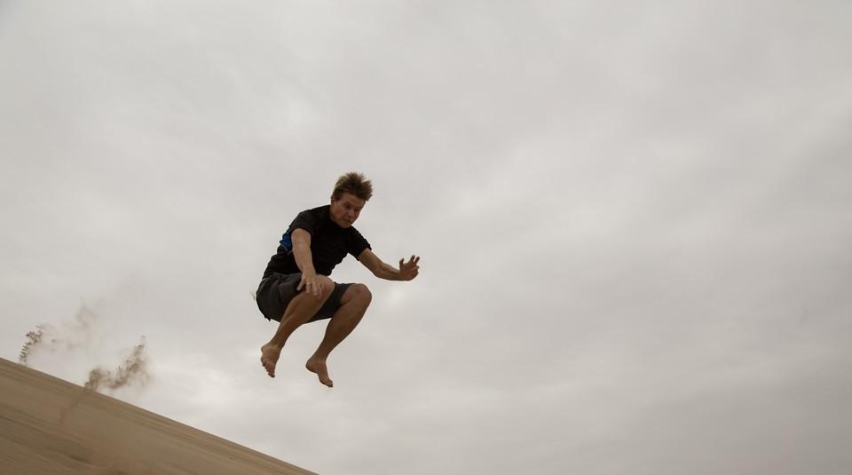 Ultramaraton w drodze na wydmy w Dunhuang!