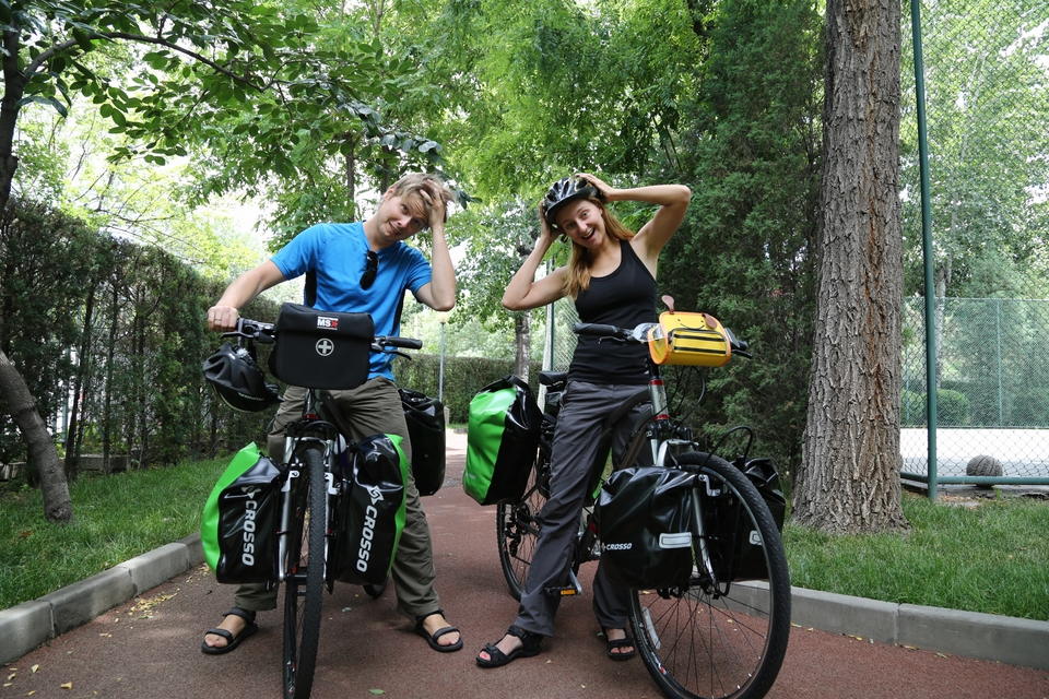 Jedwabny szlak na rowerze – kulisy